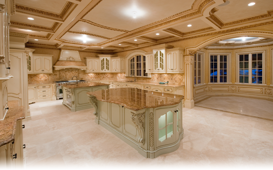 Custom Kitchen Designs by Kevo Development - Bergen County NJ Kitchen ...