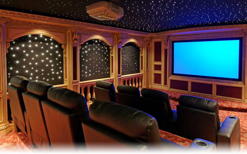 Custom Home Theater Home Design 2017