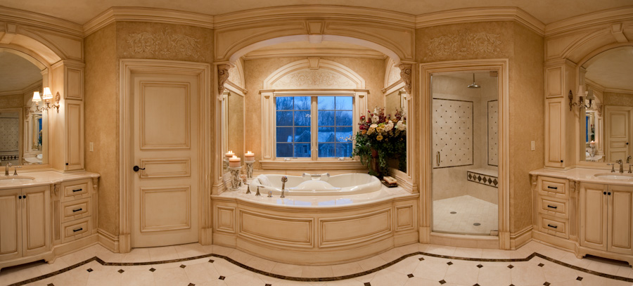 Custom Bathroom Designs nj custom home designs - kevo development is a bergen county nj