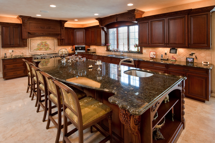Custom Kitchen Designs by Kevo Development - Bergen County NJ