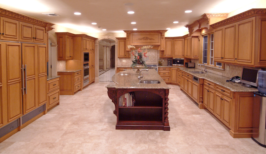 Custom Kitchen Designs by Kevo Development - Bergen County NJ ...