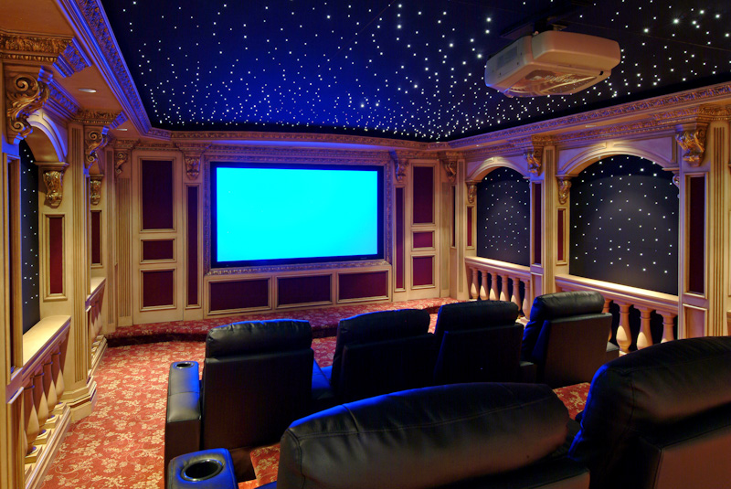 Custom Home Theaters Entertain