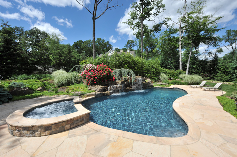 Luxury Home Swimming Pools outdoor living & swimming pools - kevo development corporation