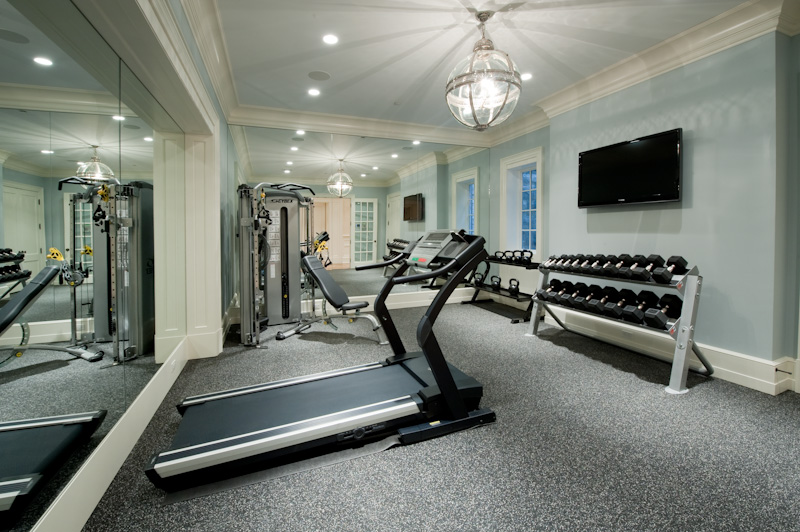Luxury home gym - Images of home gyms ...